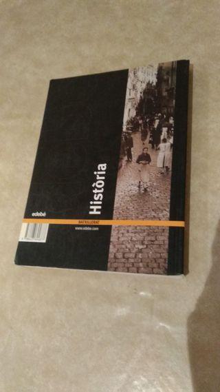 Libro Historia Edebe Segundo de Bachillerato