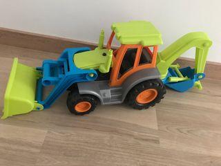 Tractor Excavadora juguete niños