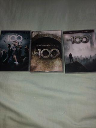 Temporadas 1,2 y 3 THE 100