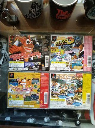 Pack juegos Playstation Crash Bandicoot