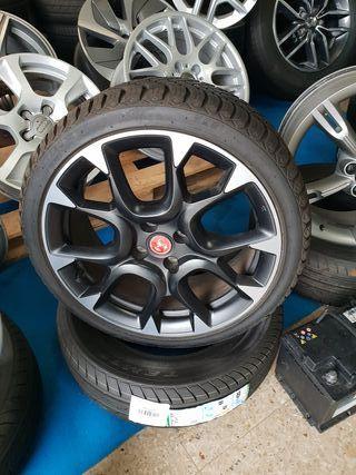 """Llantas con neumáticos Fiat 17"""""""