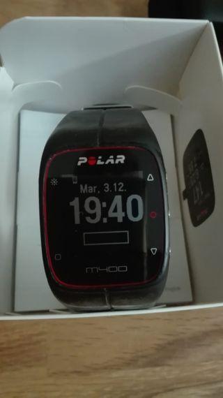Polar M400 + Cinta Frecuencia Cardiaca