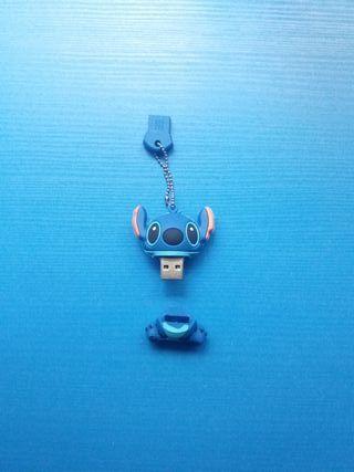 USB LILO Y STICH 16 GB 2.0 AZUL