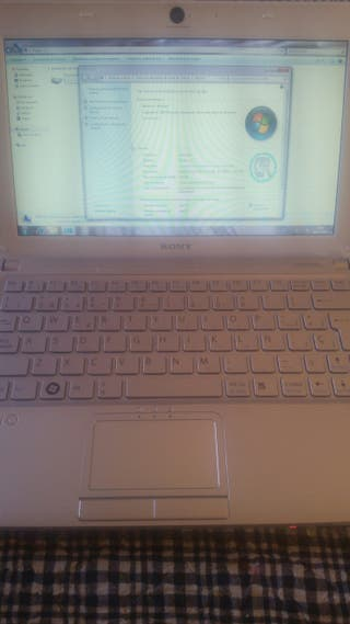Ordenador portatil sony vaio netbook