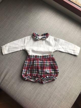 Conjunto Pelele Ranita Toni Bambino 6 meses lote