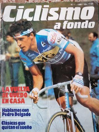 Primer número ciclismo