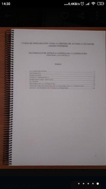 Libros De Acceso A Grado Superior De Segunda Mano Por 33