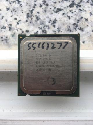 Procesador Intel Pentium D 820