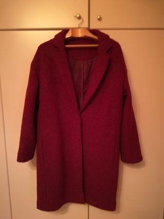 Abrigo Rojo de Lana
