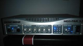 Amplificador de bajo Genz Benz Neo Pack 3.5