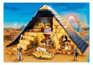 Piramide del faraón de PlayMobil