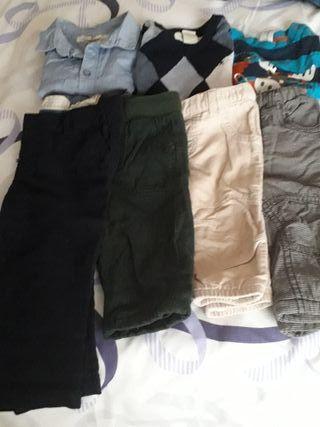 Lote de ropa niño,talla de 6/9 meses