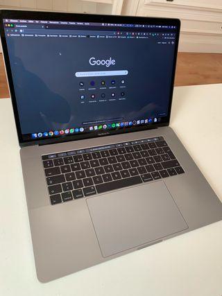 Macbook Pro 15 Touchbar i7 512gb SSD