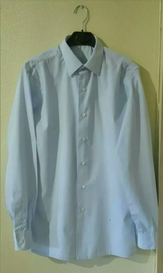 Camisa azul hombre, talla 38 grande, en buen estad