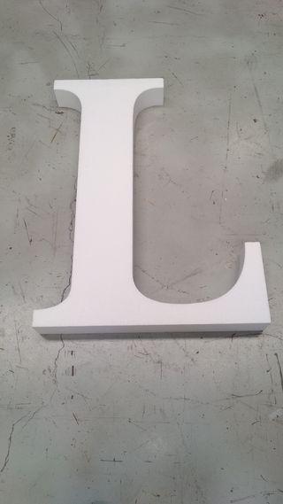 letra de corcho 1 metro altura