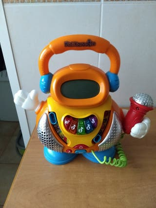 juguete karaoke vtech