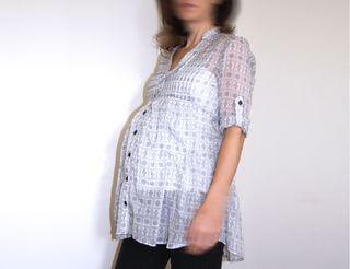 Camisa / Blusa premamá Talla 36