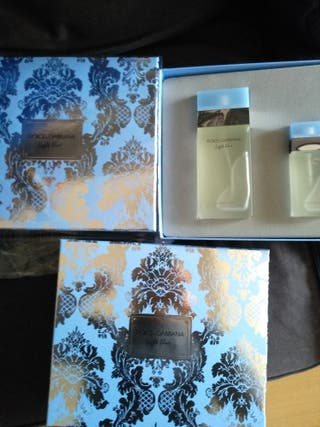 perfumes Dolce & Gabana (olor cítrico verano)