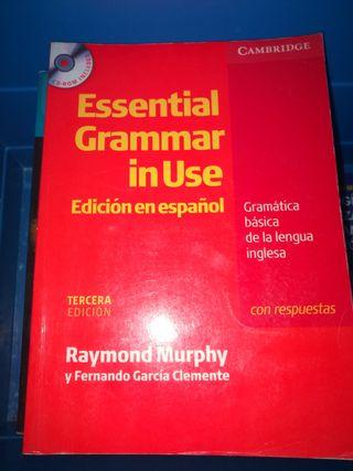 libro inglés con CD