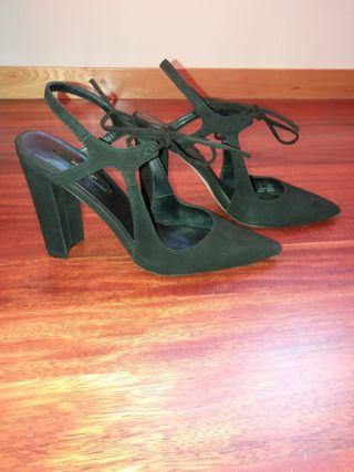 Zapato destalonado