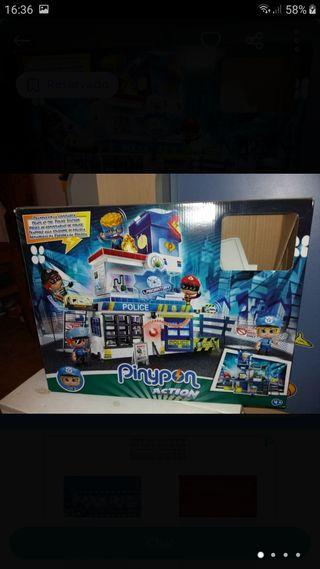 Pinypon Action Trampas Comisaria Nuevo!!