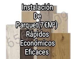 Instalación de Parquet, trabajos profesionales.