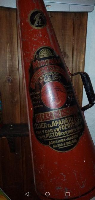 Extintor de 1930.