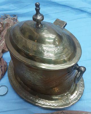 Sagrario de Capilla en bronce y cobre. Años 50