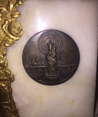 Medallon Virgen del Pilar