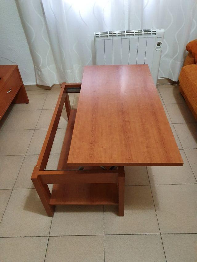 mesa de centro elevable
