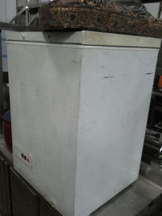 congelador blanco