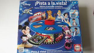 """Juego """"Pista a la vista"""" de Disney"""