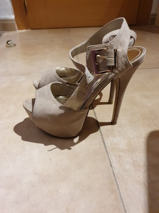Zapatos tacón y plataforma