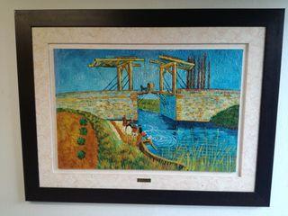 cuadro réplica de Vincent van Gogh.
