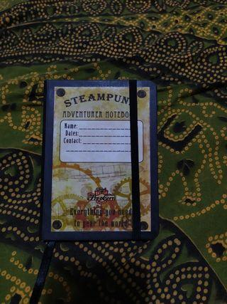 Libreta Steampunk