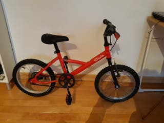 Bicicleta 16 Niño pulgadas.