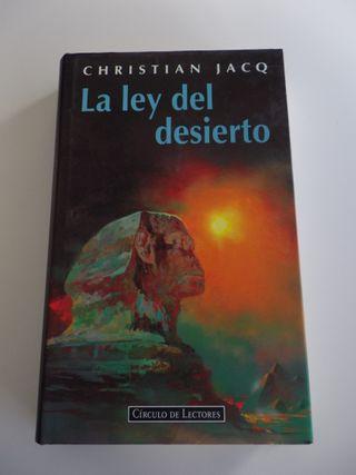 LA LEY DEL DESIERTO JACQ CHRISTIAN