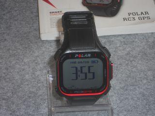 PULSÓMETRO POLAR RC3 CON GPS Y ALTÍMETRO.