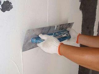 Pintor: alisado de paredes