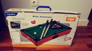 Billar americano Juguettos