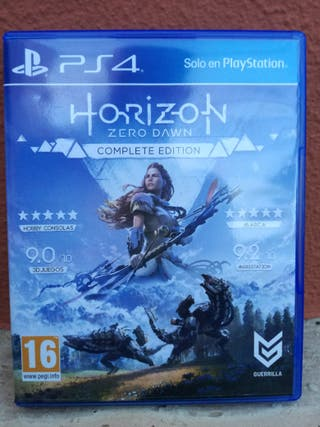 HORIZON Zero Dawn Edicion completa PS4