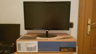 "Vendo monitor Samsung 22"" IPS Pantalla estropeada"