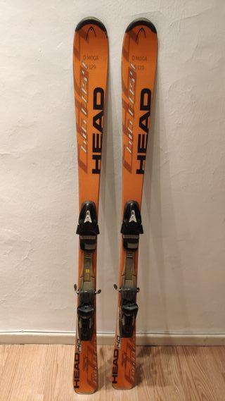 Esquís Head BigEasy 140cm.