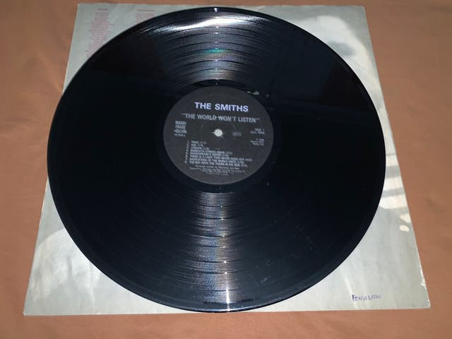 THE SMITHS THE WORLD WON'T LISTEN Disco vinilo LP