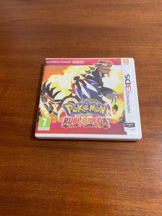 Pokemon Rubi Omega Nintendo 2ds y 3Ds