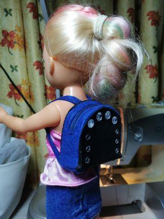mochila para Nancy