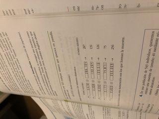 Libro matemáticas 2 de bachillerato