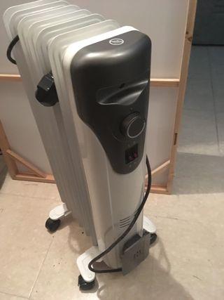 Radiador 1500w eléctrico de aceite