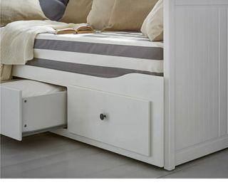 sofá cama individual de ikea HEMNES