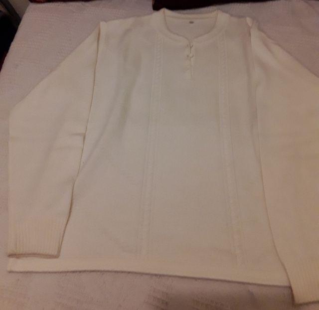INVIERNO Jersey blanco.